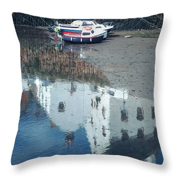 Crail Reflection I Throw Pillow