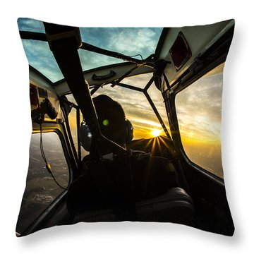 Crankin' And Bankin' Throw Pillow