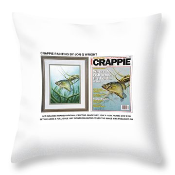 Freshwater Throw Pillows