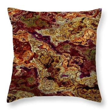 Crapulence Throw Pillow