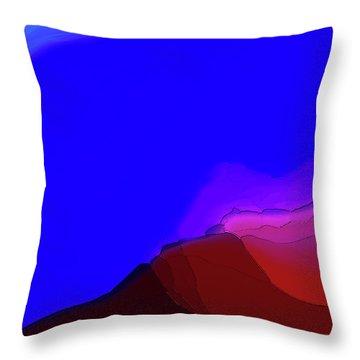 Craquelure Throw Pillow