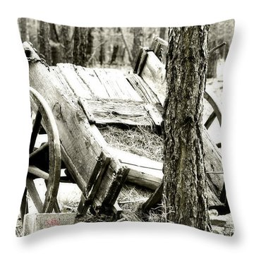 Throw Pillow featuring the photograph Crash by Beauty For God