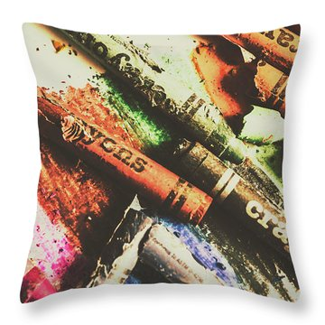 Relief Throw Pillows