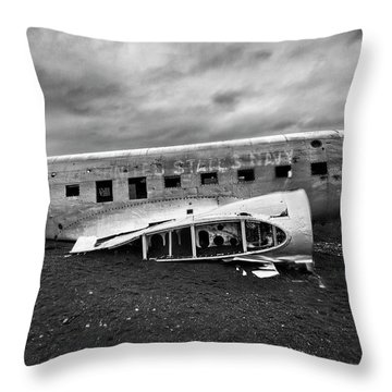 Crash Throw Pillow by Wade Courtney