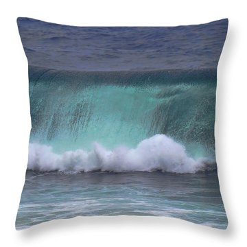 Crashing Wave Throw Pillow