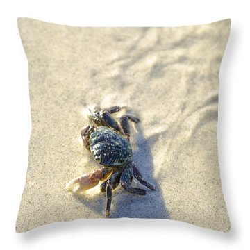 Crawling Back To You Throw Pillow