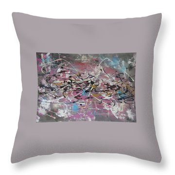 Crazy Afternoon Throw Pillow