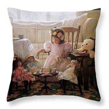 Daughters Throw Pillows
