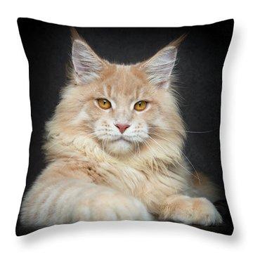 Throw Pillow featuring the photograph Creamy by Robert Sijka