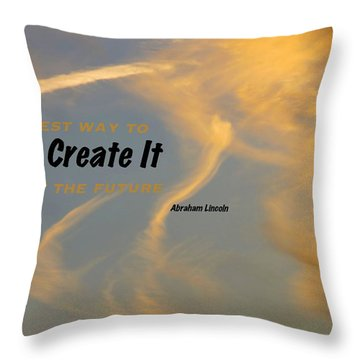 Create Greatness Throw Pillow