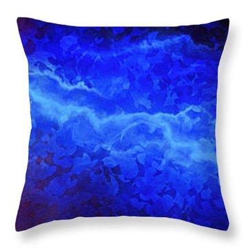 Creation - Abstract Art Throw Pillow