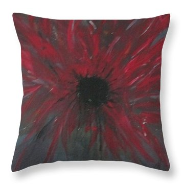 Creation Crying Throw Pillow