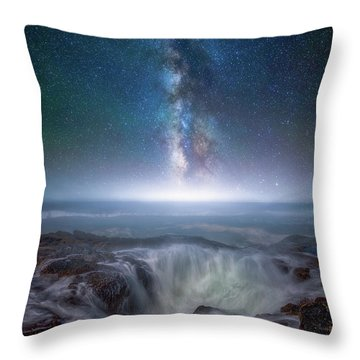 Throw Pillow featuring the photograph Creation by Darren White