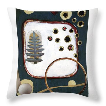 Creation Throw Pillow by Michal Mitak Mahgerefteh