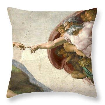 Sistine Throw Pillows
