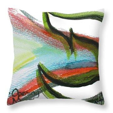 Creation Pey Throw Pillow