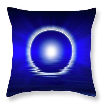 Creation Sacred Geometry Throw Pillow