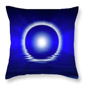 Creation Sacred Geometry Throw Pillow