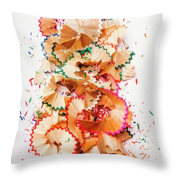Creative Mess Throw Pillow