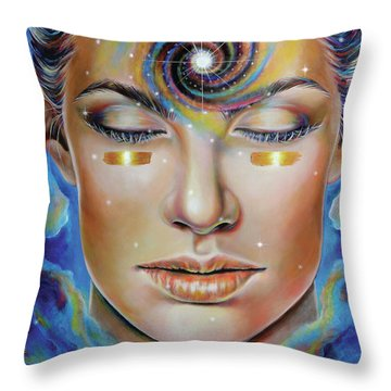 Creatrix Throw Pillow