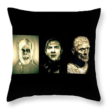 Creature Feature Throw Pillow