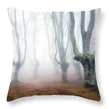 Creatures Of Egirinao Throw Pillow