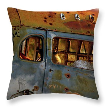Throw Pillow featuring the photograph Creepers by Trish Mistric