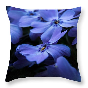 Creeping Phlox Throw Pillow