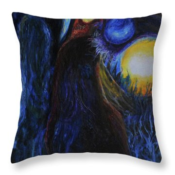 Creeping Plague Throw Pillow