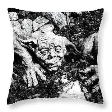 Creepy ... Throw Pillow by Juergen Weiss