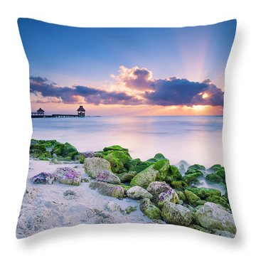 Crepuscular Throw Pillow