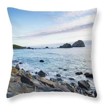 Crescent City Sunset Throw Pillow