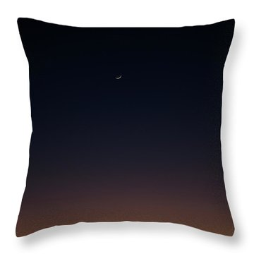 Throw Pillow featuring the photograph Crescent by Eric Christopher Jackson