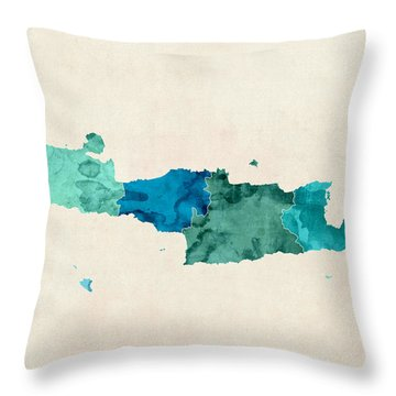 Crete Throw Pillows