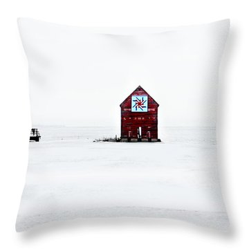 Throw Pillow featuring the photograph Crib Quilt by Julie Hamilton