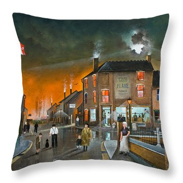 Cribnight Throw Pillow