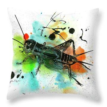 Cricket Throw Pillow