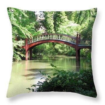 Crim Dell Bridge Iv Throw Pillow