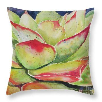 Crimison Queen Throw Pillow