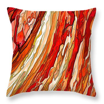 Crimson Tide Throw Pillow by ABeautifulSky Photography