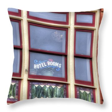 Cripple Creek Hotel Rooms 7880 Throw Pillow