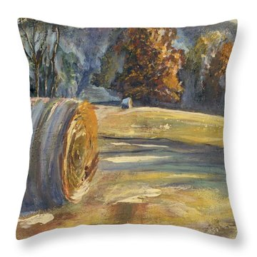 Crisp Air And Sunset Kisses Throw Pillow
