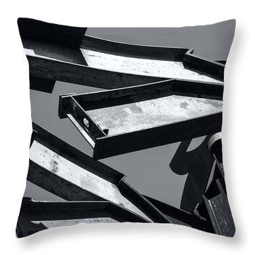 Crissy Field Iron Scuplture Throw Pillow