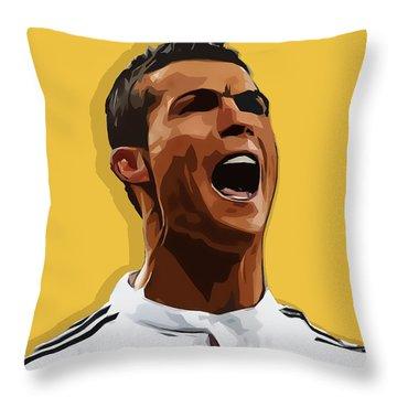 Cristiano Ronaldo Cr7 Throw Pillow