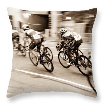 Criterium Throw Pillow
