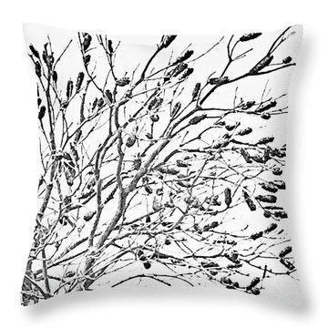 Cronulla Tree No. 62-1 Throw Pillow