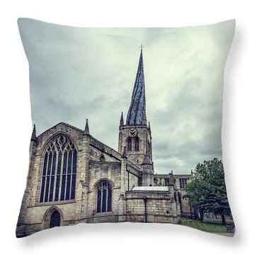 Crooked Spire Throw Pillow