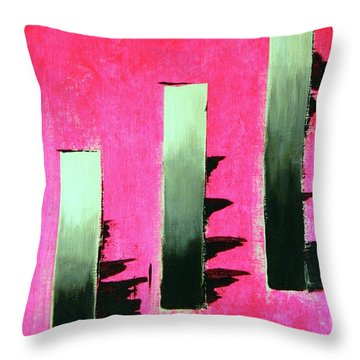 Crooked Steps Throw Pillow by Everette McMahan jr