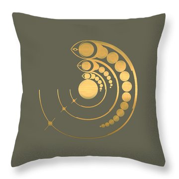 Crop Circle Formation Near Avebury  Throw Pillow
