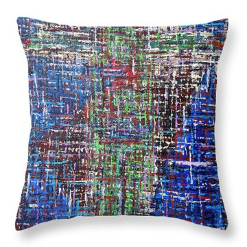 Cross 2 Throw Pillow by Patrick J Murphy